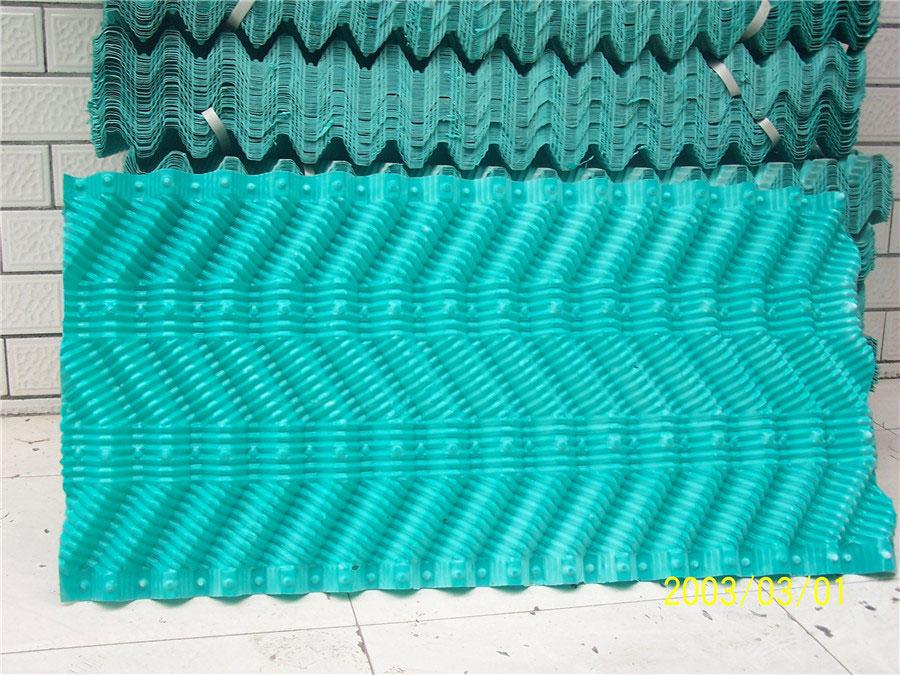 S波塑料淋水填料.