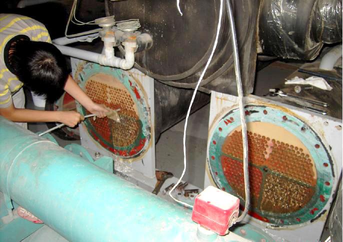 空调循环水系统结垢